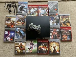 PS 3 With all Games CDS Included
