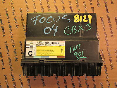 01-02-03-04 FORD FOCUS 4DR MULTIFUNCTION GEM COMPUTER 1S7T-15K600-CD