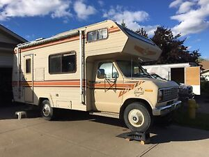 1985 Ford Frontier 21ft Motorhome