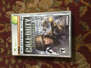 Xbox 360 Call of Duty Finest Hour game