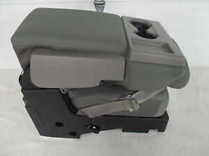 2015 16 17 18 FORD F150 CENTER JUMP SEAT/CONSOLE  GRAY CLOTH OEM NEW!  NICE!!!