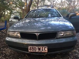Mitsubishi Magna Spacewagon Backpacker Car Fortitude Valley Brisbane North East Preview