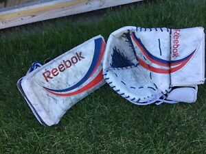 Reebok full right glove blocker set