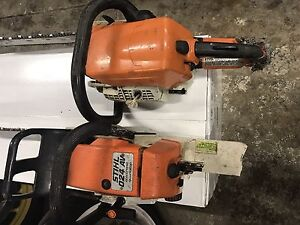 Two sthil  chain saws