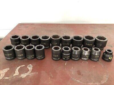 Proto Impact Socket Set18 Pcs. J72103 J72103 34 To 2 Set. 1 Drive.