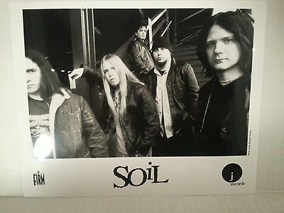 "SOIL -  PROMO PICTURE - RARE - 8"" X 10""-FREE SHIPPING"
