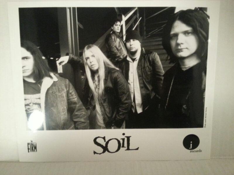 "SOIL -  PROMO PICTURE - RARE - 8"" X 10""-FREE SHIPPING"