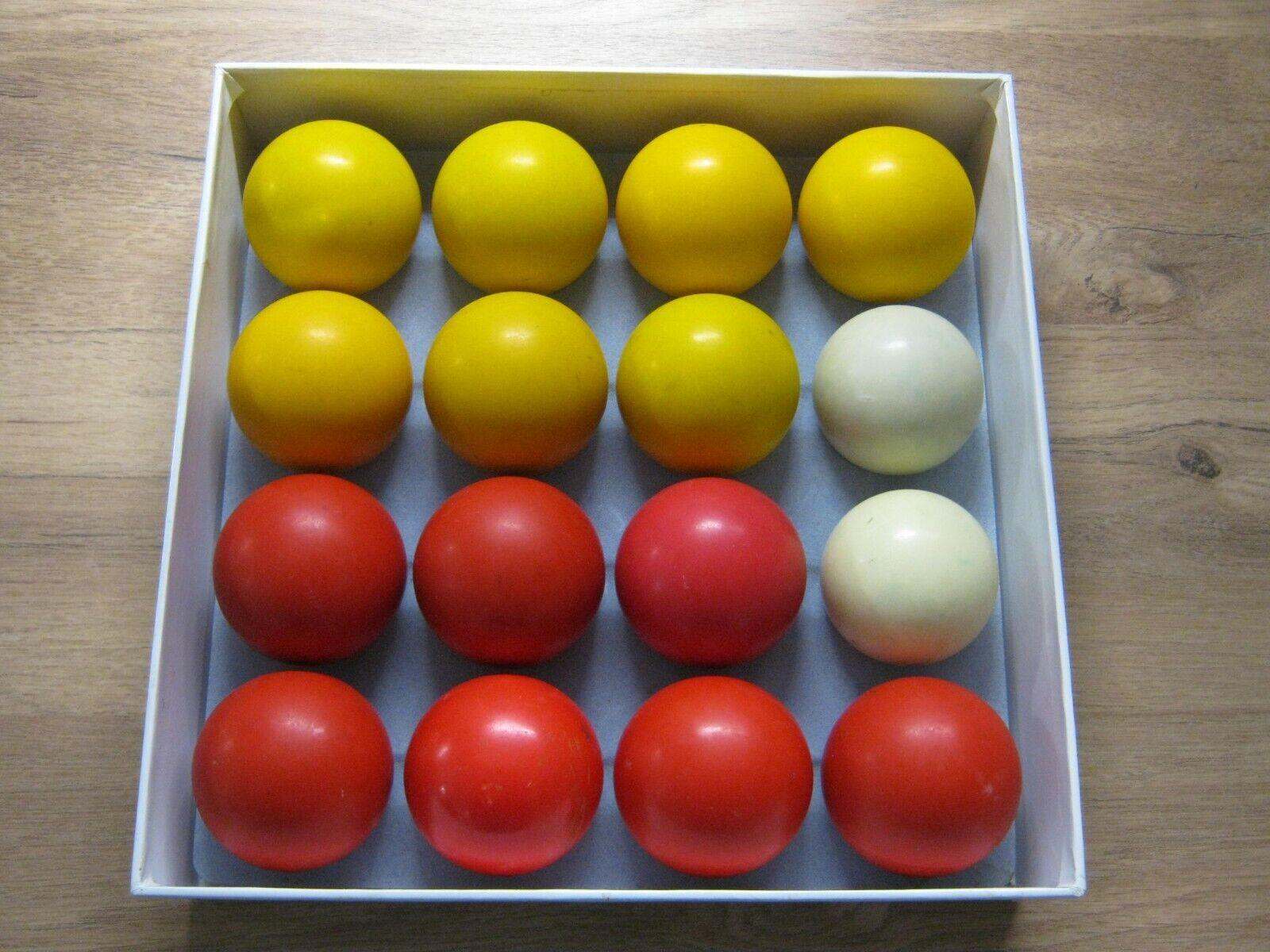 PROFESSIONAL POOL BALLS - NO BLACK BALL - 2 INCH DIAMETER POOL TABLE BALLS