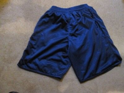 Navy basketball shorts by Team Colours, XXS, brand new in maker's bag