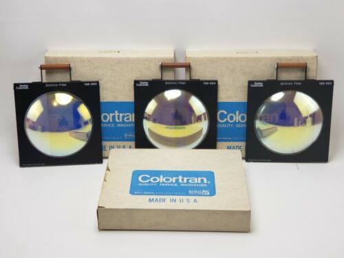 130-003 Berkey Colortran Dichroic Filter set of 3