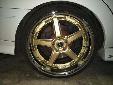 "20"" Vertini Racing Wheels"