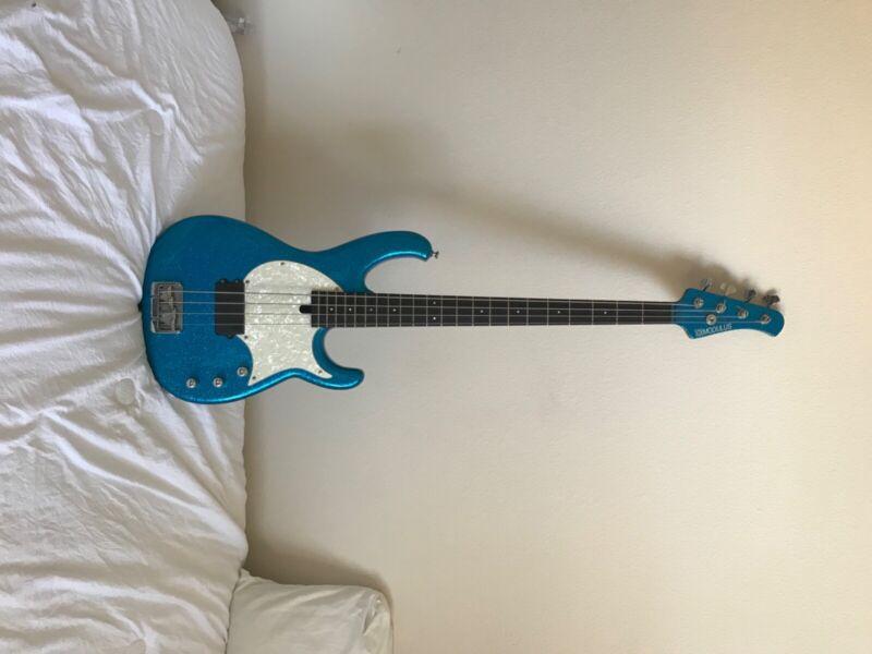 Modulus Flea Bass Blue Sparkle 2007