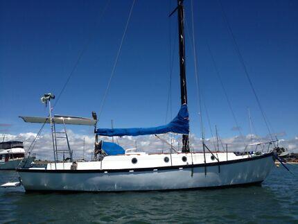 Yacht 36 foot Samson MastHead Cutter Sloop