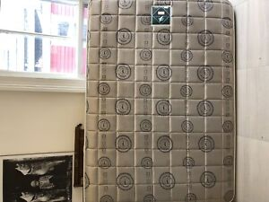 Double bed complete mattress box spring and frame