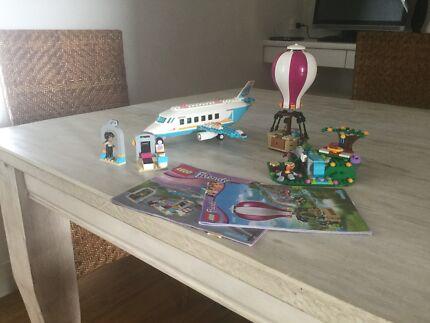 Lego Friends Heartlake Hot Air Balloon & Private Jet