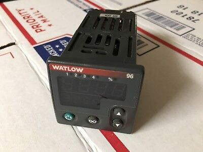 Watlow 96a1-fddm-dcrg Temperature Controller Tested Warranty