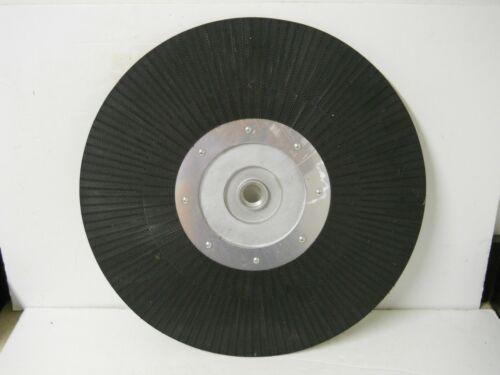 "Metal & Black Lok Locking Floor Scrubber Buffer Pad Driver 20"" w/ 1"" Hole 389440"