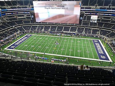 2 Dallas Cowboys Psl Sbl 40Ydl Sec411 Row14 Tickets Nfl Dak Ezekial Paid In Full