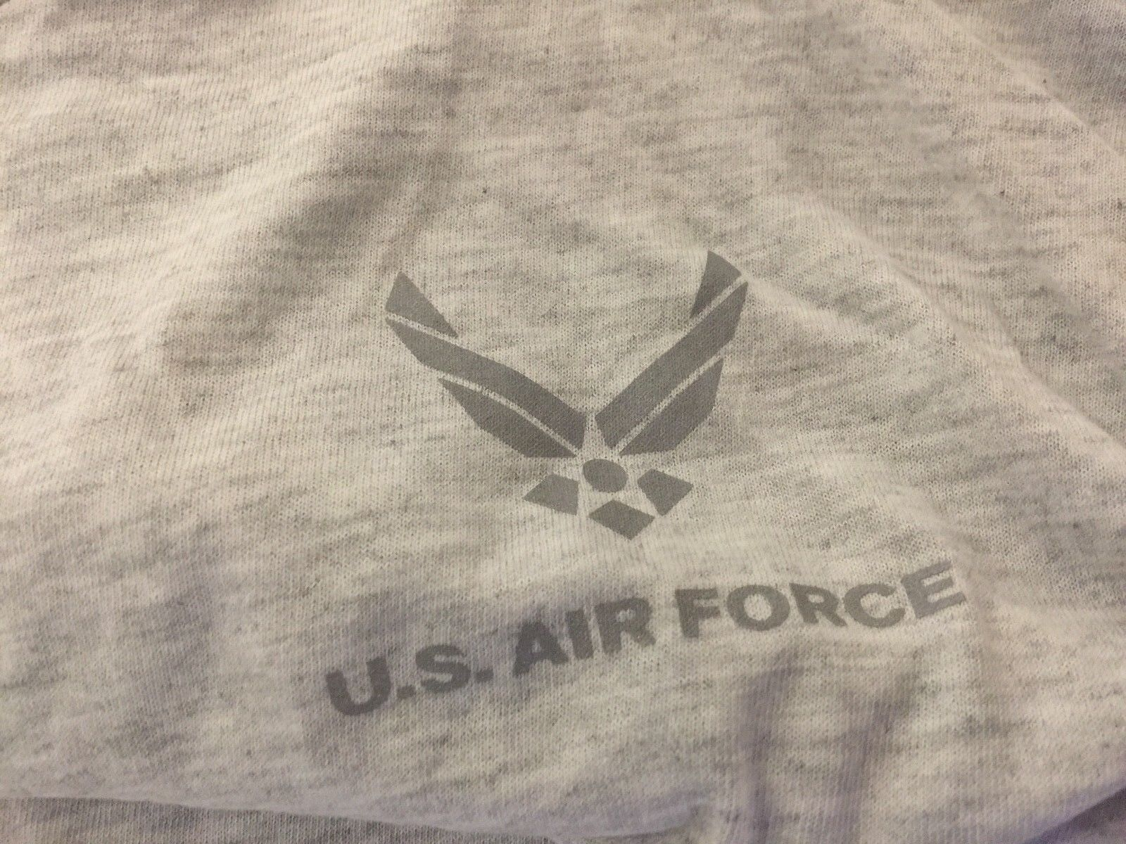 US AIR FORCE  PT SHIRT, POLY/COTTON, NEW OLD STOCK, XXXL,US