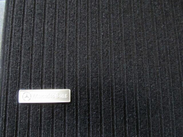 Mercedes Benz Original Satz Rips Fussmatten C Klasse W 204 Schwarz Neu OVP