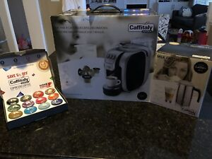 NEW Caffitaly system Coffee Maker & Milk Frother