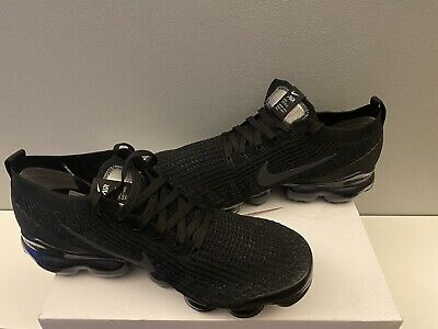 Nike Air Vapormax Flyknit 3 Black U.K. Size 10 Brand New
