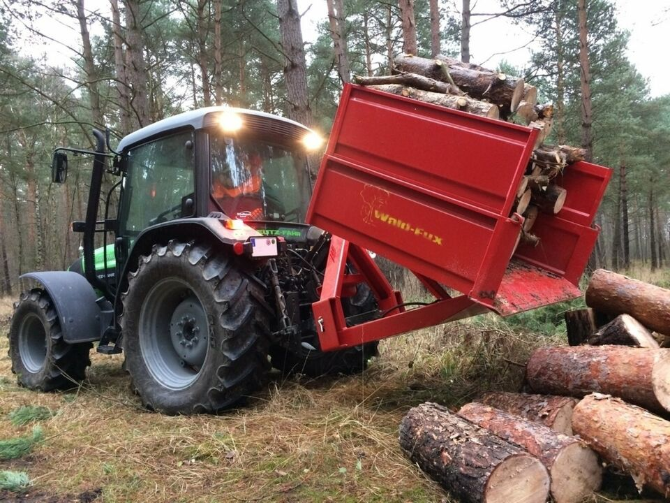 Transportmulde Traktor Schneemulde Schneeschaufel Winterdienst... in Kühbach