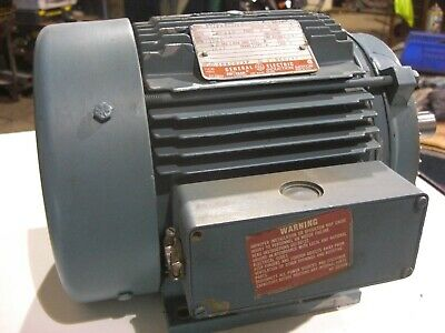 5 Hp Electric Motor Ge 3 Phase 230460v