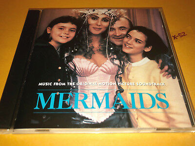 MERMAIDS soundtrack CD cher frankie valli lesley gore mickey & sylvia smokey rob
