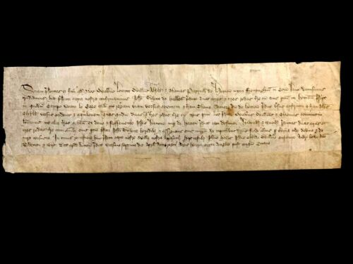 1430 MEDIEVAL VELLUM - Henry VI King of England and disputed King of France
