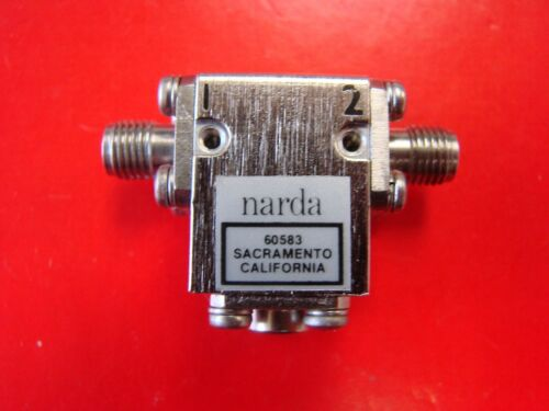 Narda 14-15GHz Isolator Model INA-1415, SMA