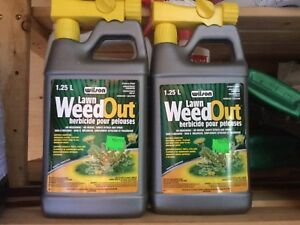 2 JUGS of BRAND NEW WEED OUT