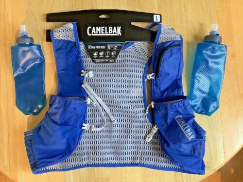 CamelBak Ultra Pro Vest 17oz Quick Stow Flask Atomic Blue - Large