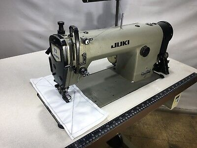 JUKI DLU-491-4 LOCKSTITCH BOTTOM AND VARIABLE TOP-FEED INDUSTRIAL SEWING MACHINE