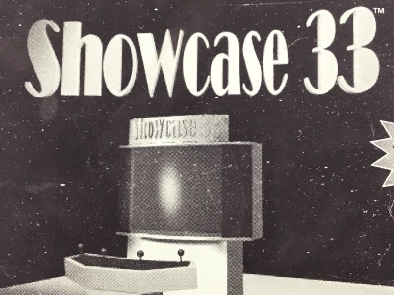 Atari Showcase 33 Arcade Service Manual Schematics