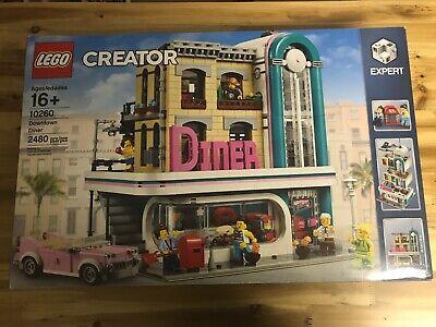 LEGO 10260 Downtown Diner CREATOR Expert Modular Building Set NEW Sealed