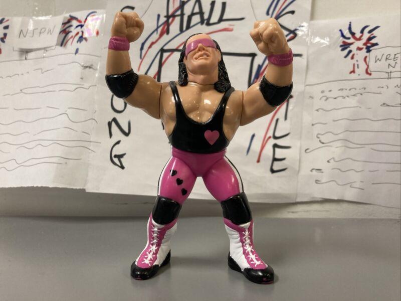 WWF Bret The Hitman Hart Hasbro Wrestling Figure WWE 1992  Series 4 WCW