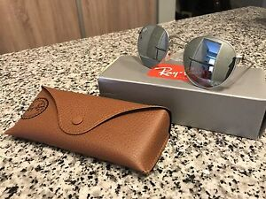 Ray Ban round Silver Mirrored Lenses
