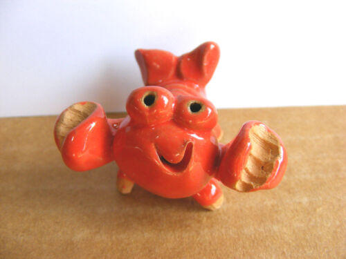 Little Guys Lobster Miniature Animal Figurine Cindy Pacileo Pottery