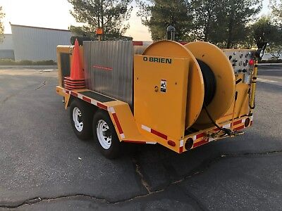 Sewer Jetter Trailer Hydrojetter Hydrojet Sewer Cleaner Water Jetter