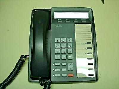 Toshiba Charcoal Gray Dkt3007-sd Phone Renewed Warranty Refurbished