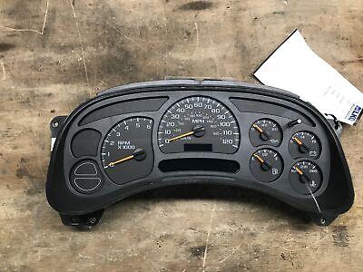 03 04 05 Chevrolet Silverado 1500 Speedometer Head Cluster MPH 107K OEM LKQ