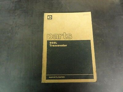 Caterpillar Cat 955l Traxcavator Parts Manual  Ueh0781s