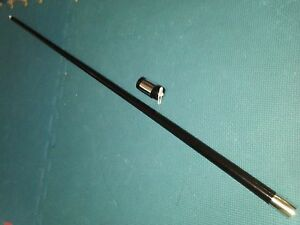 Stage-Close-up-Magic-Trick-Classic-Magic-PLASTIC-Appearing-Cane-Wand-BLACK