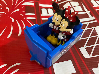 2021 Disney Mickey Minnie Tomorrowland PeopleMover Toy Pull Back Ride Vehicle