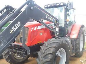 TRACTOR MASSEY FERGUSON 6480 WITH TRIMA FRONT END LOADER Kewdale Belmont Area Preview