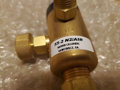 Harris Model 55-2 N2air 90 Airnitrogen Calibration Single Stage Flowmeter58d