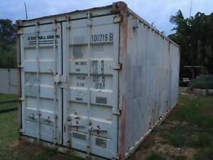 SOLD PP  sea container