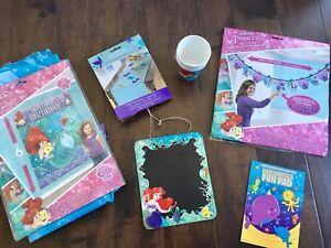 ~Ariel Little Mermaid Birthday Decoration Lot - $25~