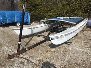 Hobie 16 Sailboat with Trailer